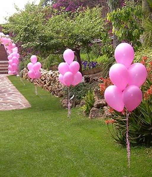 Heli up venta de gas helio for Como adornar con globos